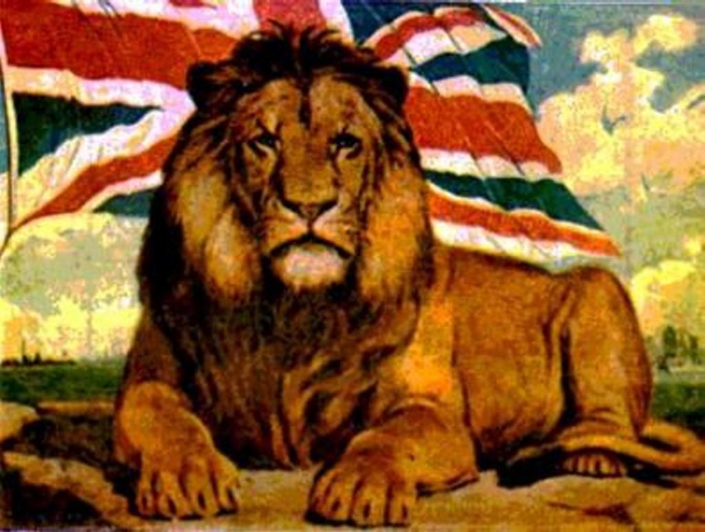 символ Британской империи