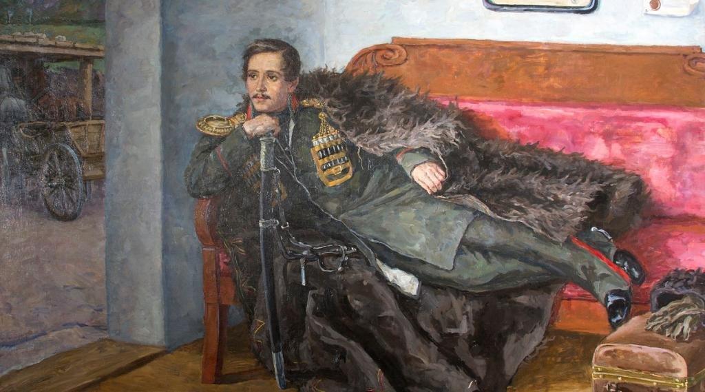 Писатель Михаил Лермонтов